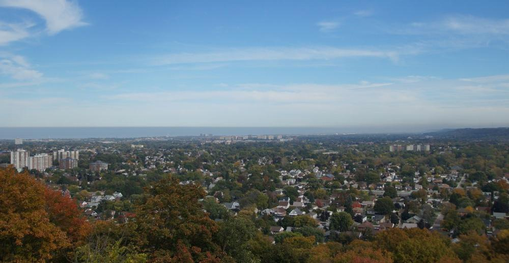 hamilton escarpment real estate